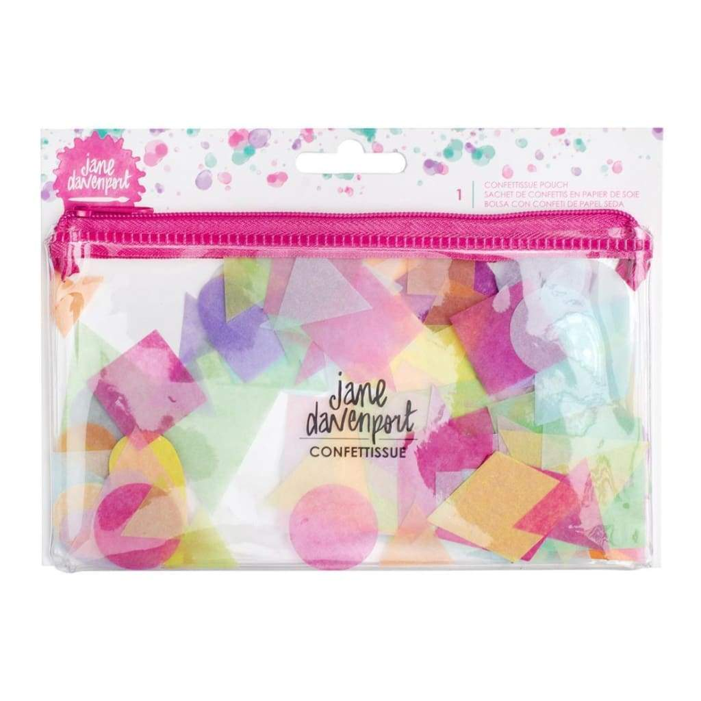 Jane Davenport Mixed Media Confettissue Die-Cuts 205 pack - Cute Shapes