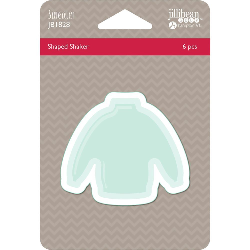 Jillibean Soup PVC Card Shakers 6 pack - Sweater