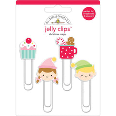 Doodlebug - Jelly Clips 4 Pack - Christmas Magic