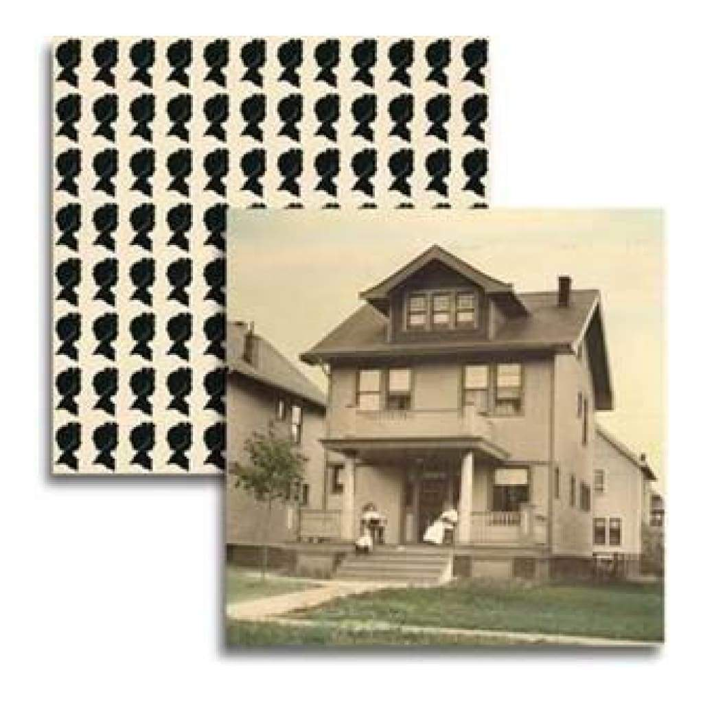 Jenni Bowlin - Haven - Betty's House 12X12 D/Sided Paper  (Pack Of 10)