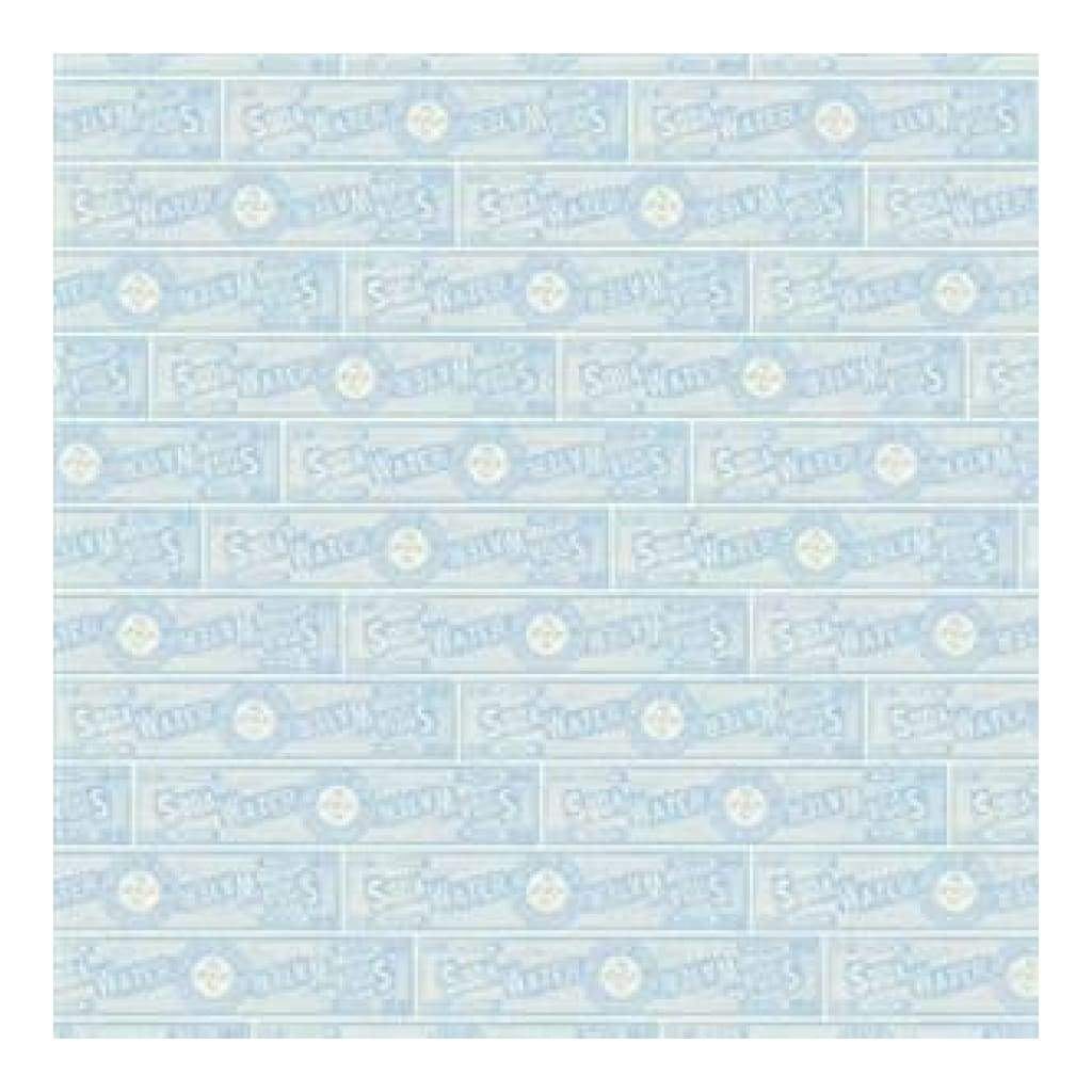 Jenni Bowlin - Soda Label Blue 12X12 Paper  (Pack Of 10)