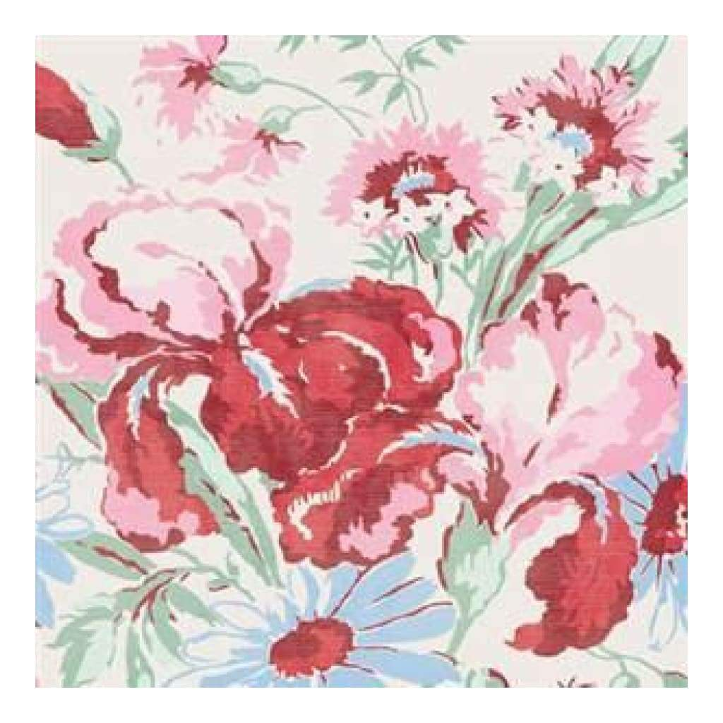 Jenni Bowlin - Spring Picnic - Kitty's Floral 12X12 Paper  (Pack Of 10)