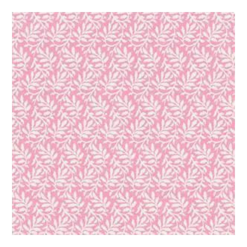 Jenni Bowlin - Spring Picnic - Pink Branch 12X12 Paper  (Pack Of 10)