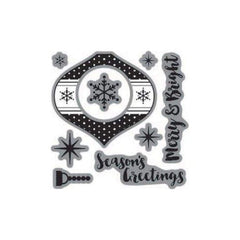 Jillibean Soup Clear Stamps Ornament