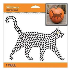 Jolee's Halloween  Bling Stickers 6.5 Inch X6.5 Inch - Creepy Cat
