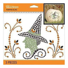 Jolee's Halloween  Bling Stickers 6.5 Inch X6.5 Inch - Witch