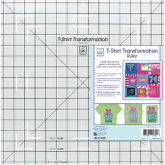 June Tailor - T-Shirt Transformation Ruler 15-1/2 inch X15-1/2 inch
