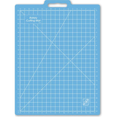 June Tailor - Gridded Rotary Mat W/Handle 18 inch X26 inch W/17 inch X23 inch Grid