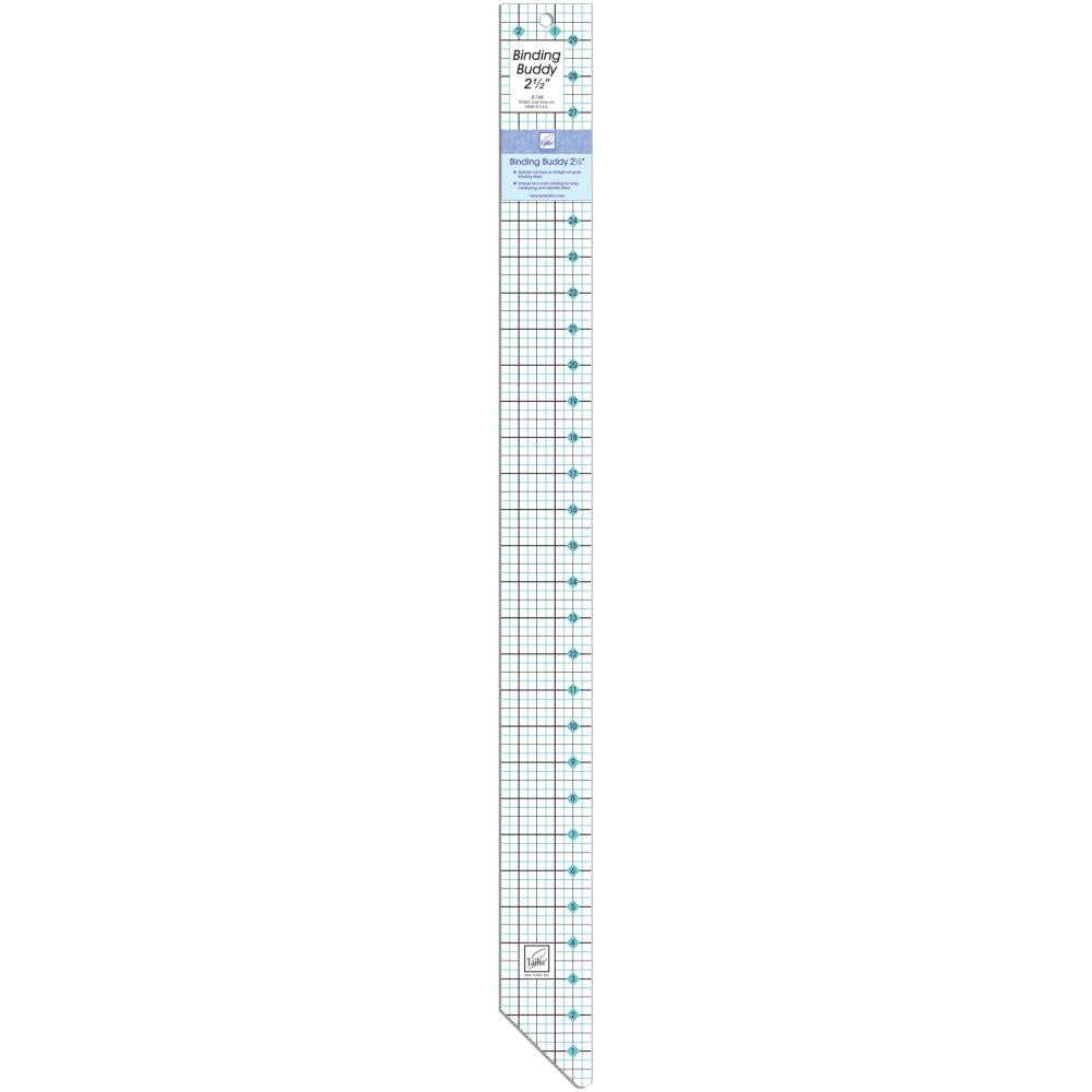 June Tailor - Binding Buddy Ruler 2-1/2 inch X30 inch