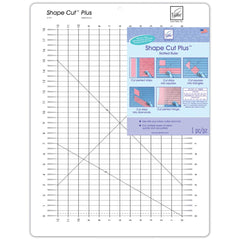 June Tailor - Shape Cut Plus Ruler 12 inch X18 inch