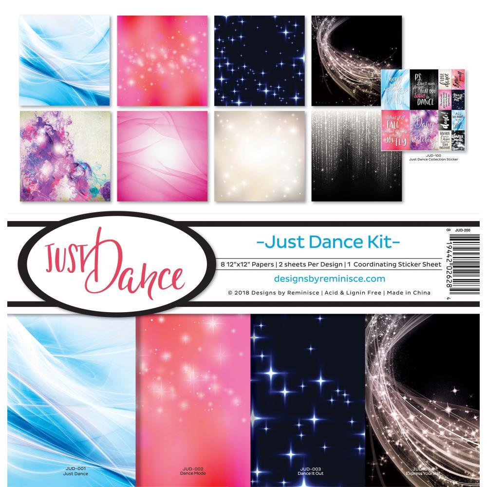 Reminisce Collection Kit 12 inchX12 inch - Just Dance