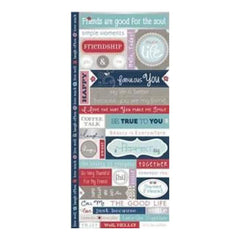 Just Because - Fresh Verse Cardstock Stickers