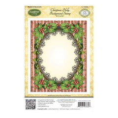 Just Rite Stamps - Christmas Holly