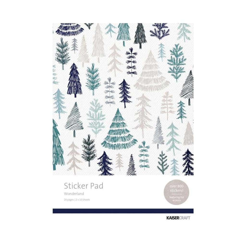 Kaisercraft - Kaisercraft Sticker Pad 800 pack  - Wonderland
