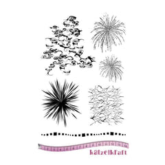 Katzelkraft - Background Clouds - Stamp set