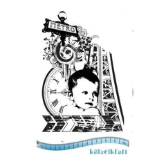 Katzelkraft - Collage BB - Rubber stamp - French Style