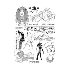 Katzelkraft - Egypt - Rubber stamp - French Style