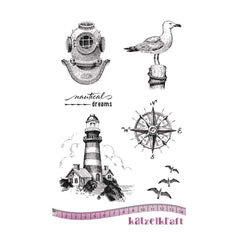 Katzelkraft - Nautical dream - Rubber stamp - French Style
