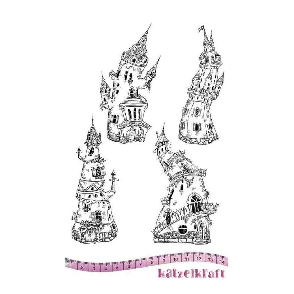 Katzelkraft - The castles - Rubber stamp