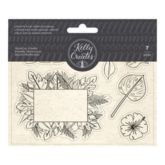 Kelly Creates Acrylic Traceable Stamps - Tropical