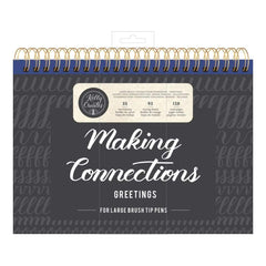 Kelly Creates Large Brush Workbook 11.6 inch X10 inch 128 pack Connections/Greetings