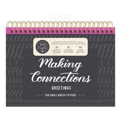 Kelly Creates Small Brush Workbook 11.6 inch X10 inch 128 pack Connections/Greetings