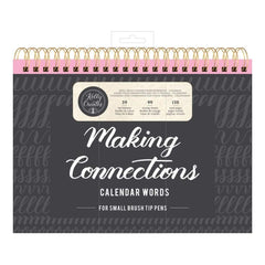Kelly Creates Small Brush Workbook 11.6 inch X10 inch 138 pack Connections/Calendar