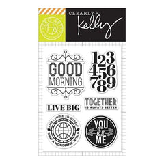 Kelly Purkey Clear Stamps 3 Inch X4 Inch  Live Big