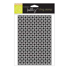 Kelly Purkey Cling Stamp 4.25 Inch X6.25 Inch  Background Tile