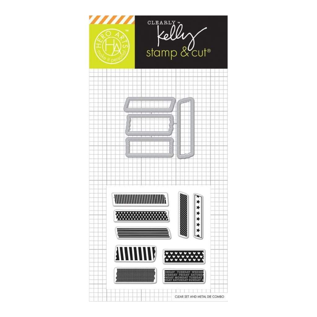 Kelly Purkey Stamp & Cut 3 inch X4 inch Tape