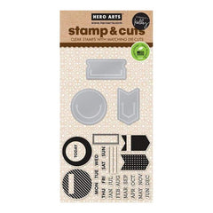 Hero Arts - Kelly Purkey Stamp & Cut Planner Clips