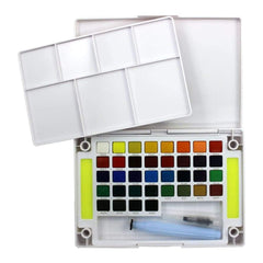 Koi Watercolor Pocket Field Sketch Box - 36 Colors - Assorted Colors