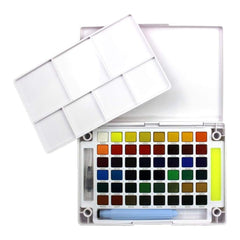Koi Watercolor Pocket Field Sketch Box - 48 Colours - Assorted Colours