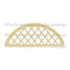 La-La Land Die Lattice Doily Border