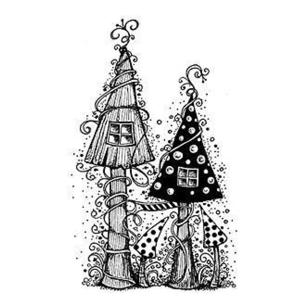 Lavinia Stamps - Fairy House