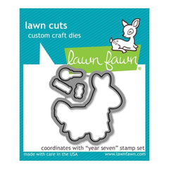 Lawn Cuts Custom Craft Die Year Seven