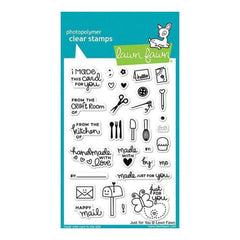 Lawn Fawn Clear Stamps 4 Inch X6 Inch  Just For You
