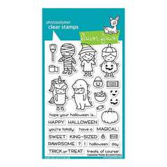 Lawn Fawn Clear Stamps 4X6 Costume Party
