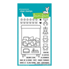 Lawn Fawn Clear Stamps 4X6 inch- Youre Claw-some