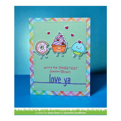 Lawn Fawn - Lawn Cuts Custom Craft Die Love Ya Line Border