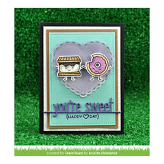 Lawn Fawn - Lawn Cuts Custom Craft Die Youre Sweet Line Border