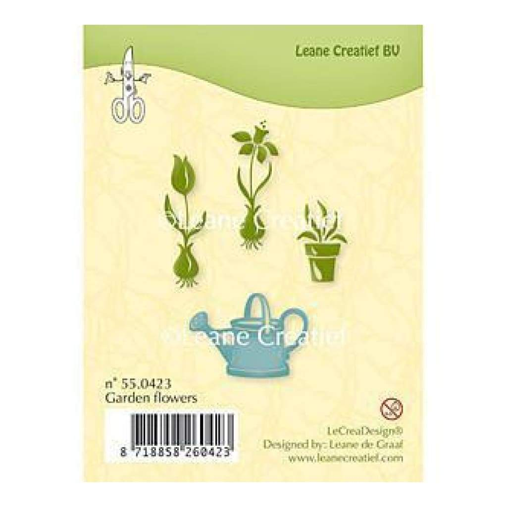 Leane Creatief Clear Stamps - Garden Flowers
