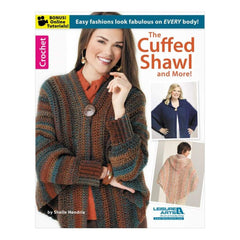 Leisure Arts The Cuffed Shawl & More - Crochet