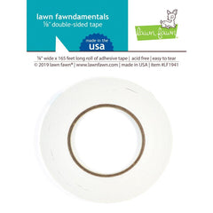 Lawn Fawndamentals .125 inch Double-Sided Tape 165ft