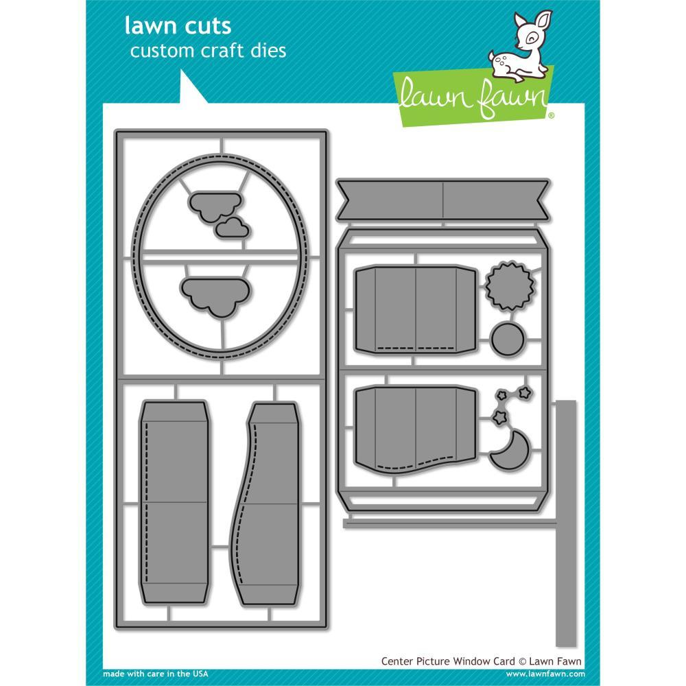 Lawn Fawn - Lawn Cuts Custom Craft Die Centre Picture Window Card