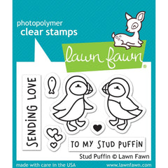 Lawn Fawn Clear Stamps 3in x 2in - Stud Puffin