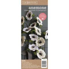 Lia Griffith - Crepe Paper Flower Kit Anemones