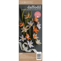 Lia Griffith - Crepe Paper Flower Kit Daffodil