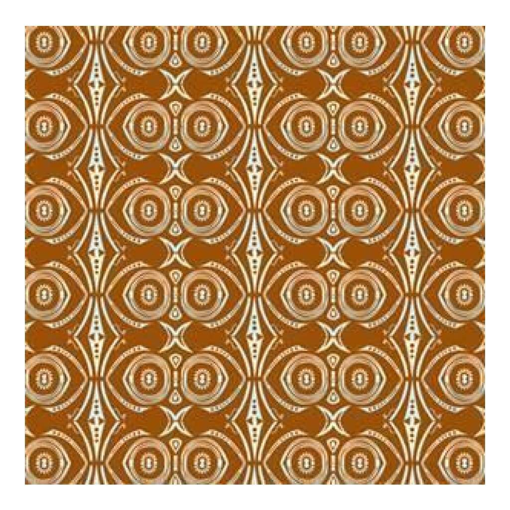 Li'l Davis - Vbilt 12X12 Patterned Paper Stripe Chestnut (Pack Of 10)