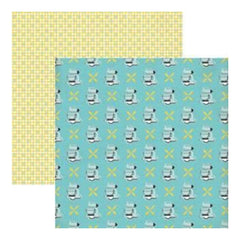 Lily Bee Design - Domestic Bliss - Kitchen Confidential 12X12 D/Sided Paper  (Pa